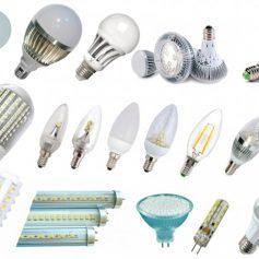 Светодиодные лампы — наиболее распространенные области применения