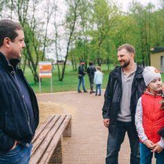 Алексей Островский принял участие в открытии нового парка в Смоленске