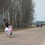 Юные смоляне вынуждены заниматься спортом на проезжей части