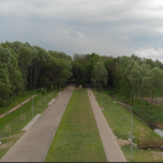 ЭГГЕР объявил о продолжении реконструкции парка Солнцева