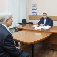 Андрей Борисов провел прием граждан по личным вопросам