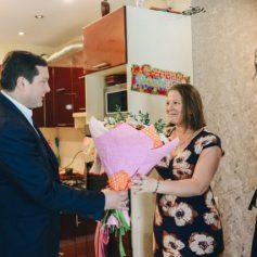 Алексей Островский побывал в гостях у многодетной семьи в Вязьме