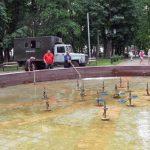 В Смоленске отключат два фонтана