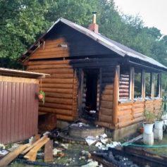 Мужчина пострадал на пожаре в деревне Рай Смоленского района