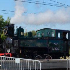 Смоленская «кукушка» принимает участие в международном железнодорожном салоне