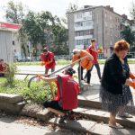В Смоленске облагородили ориентиры для слепых