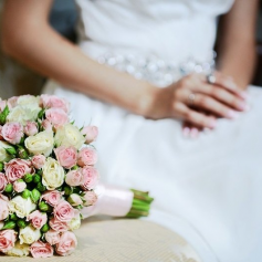 История свадебного букета