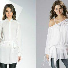 Выбираем модную блузку и тунику