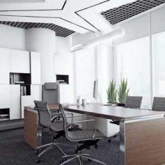 Как зелень дополняет хороший интерьер офиса