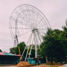 Колесо обозрения в Смоленске планируют открыть в декабре 2019 года