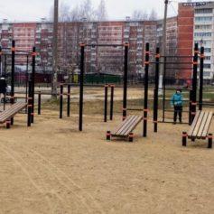 Несколько новых спортплощадок появилось в Смоленске