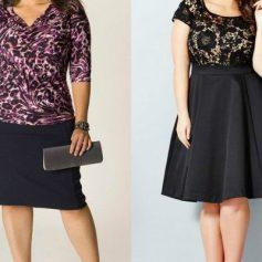 Как выбрать гардероб полным дамам