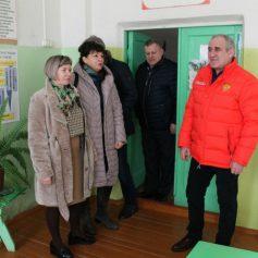 Сергей Неверов посетил Вяземский район