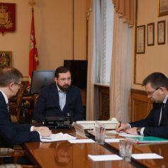 Алексей Островский держит на контроле поддержку местных молокоперерабатывающих предприятий