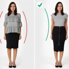 Корректируем перегибистую фигуру при помощи одежды
