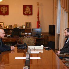 Алексей Островский обсудил с начальником регионального УМВД план работы в 2020 году