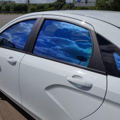 Тонировка плёнкой стекол автомобиля