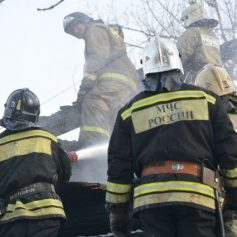 Бесхозное строение загорелось в Починковском районе