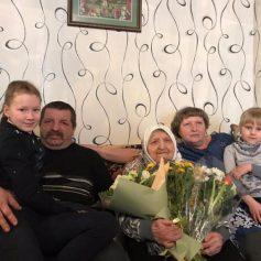 Путин поздравил смолянку со 100-летним юбилеем