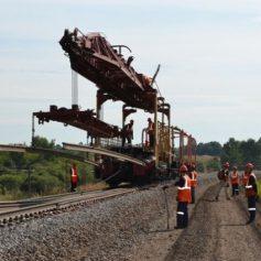 В Смоленской области отремонтируют 50 км железнодорожных путей