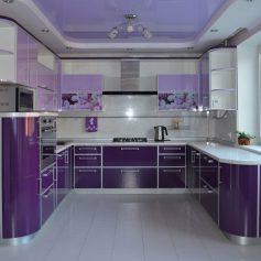 Разделяем зоны в дизайне кухни