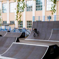 Скейт-парк обновили в Смоленске