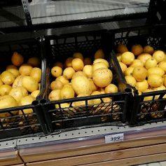 Лимоны в Смоленской области подорожали почти в четыре раза