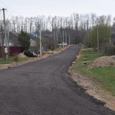 В смоленском селе отчитались о ремонте дорог