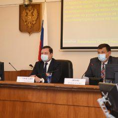 Смоленский парламентарии обсудили исполнение регионального бюджета за 2019 год