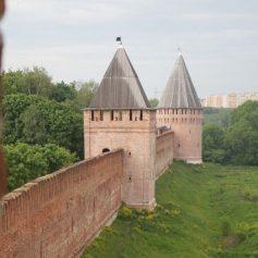 Утраченную часть Смоленской крепостной стены предлагают мемориализировать