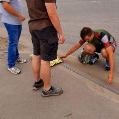 В Смоленске на двух улицах появились велосипедные пандусы