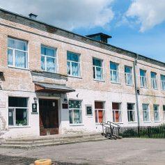 В починковской школе впервые за 79 лет капитально отремонтируют фасад
