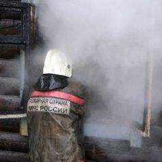 Пожилой мужчина погиб на пожаре в Кардымовском районе
