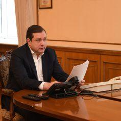 Онлайн-встреча губернатора с жителями Починковкого района перенесена