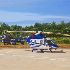 В Смоленск прибыл вертолет санитарной авиации