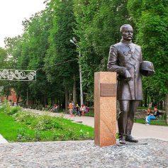 В Смоленске завершается благоустройство парка Пионеров
