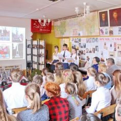 Екимовичский школьный музей признали одним из лучших в стране