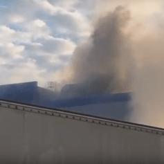В Смоленской области произошел пожар на предприятии