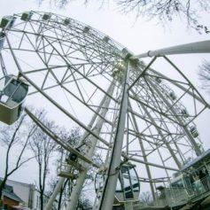 Колесо обозрения возобновило работу в Смоленске