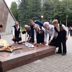 Делегация совета ветеранов из Подмосковья посетила Смоленщину