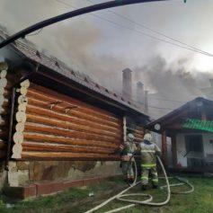 Жилой дом горел в Шумячском районе
