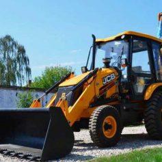 В каких работах участвует экскаватор-трактор?