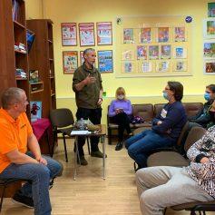 Отряд «Сальвар» провел встречу со студентами технологической академии
