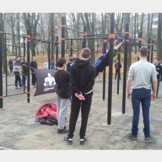 Новую площадку для воркаута оборудовали в Смоленске