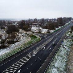 В Смоленской области капитально отремонтировали 15 км трассы Р-120