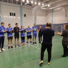 Волейболисты-любители выявляли сильнейших на турнире в Рославле