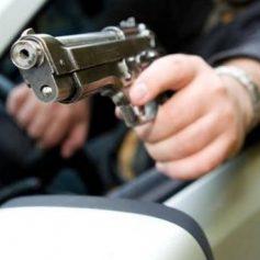 Москвича задержали за стрельбу из пистолета на дороге в Смоленской области