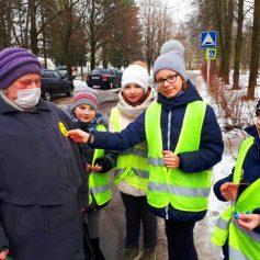 В Смоленском районе прошла акция «Стань заметней пешеход!»