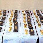 Более 30 смоленских спасателей награждены медалями и удостоены очередных званий