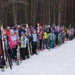 В Смоленской области состоялась массовая гонка «Лыжня России»
